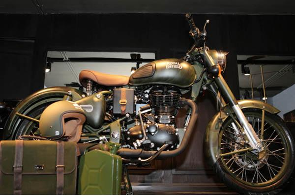 Limited Edition Royal Enfield Battle Green