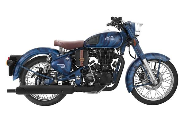 Limited Edition Royal Enfield Blue Despatch