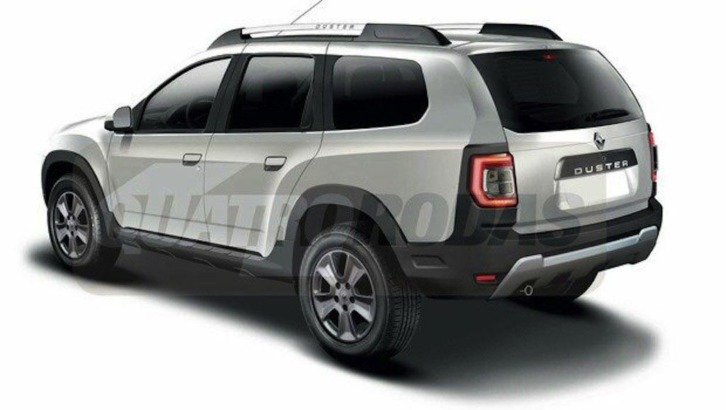 this is how the next gen renault duster 2017 looks like gaadikey. Black Bedroom Furniture Sets. Home Design Ideas