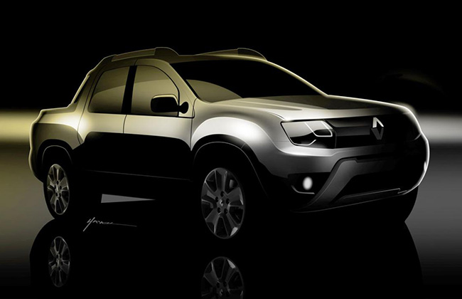 Renault Duster Pickup Image 1