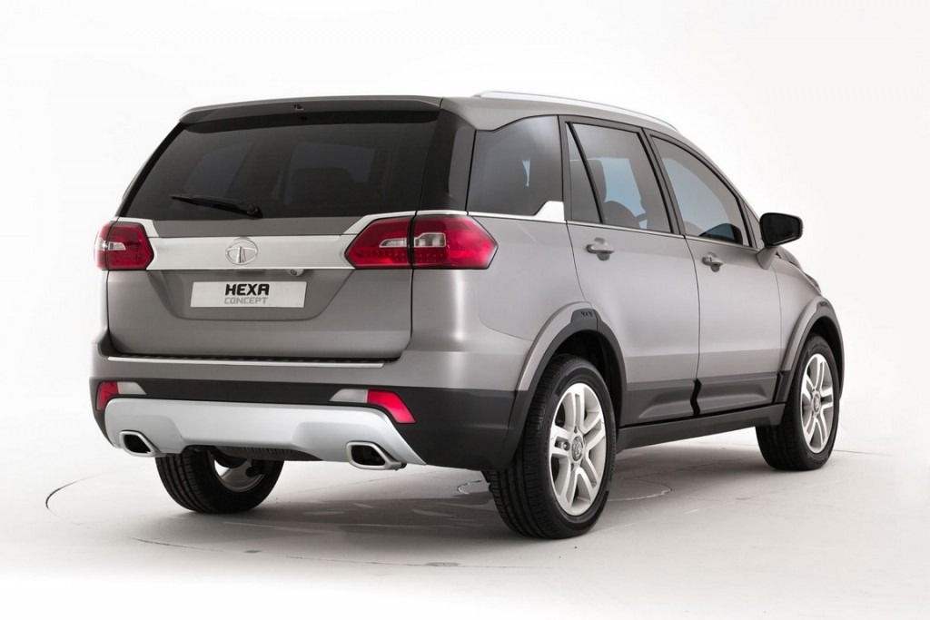 Tata Hexa Concept 2