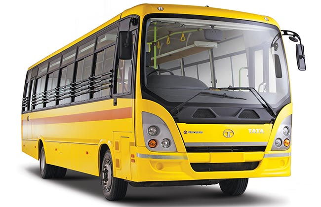Tata Starbus Ultra Skool buses by Tata