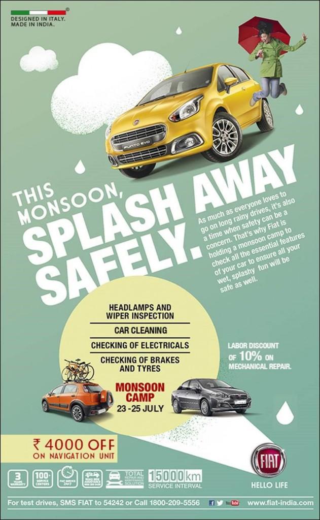 Fiat Free Mansoon Checkup