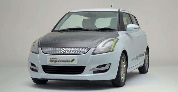Maruti Suzuki Swift Range Extender Hybrid Car 1