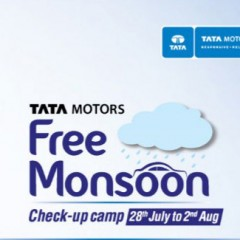 Tata to roll-out nationwide Free Mansoon Checkup Camp