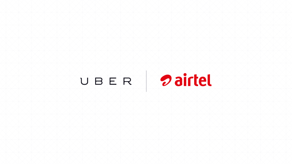Bharti Airtel and Uber Ties up