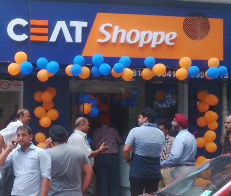 CEAT Shoppe in New Delhi now opens