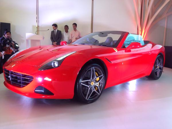 Ferrari California T launched in India