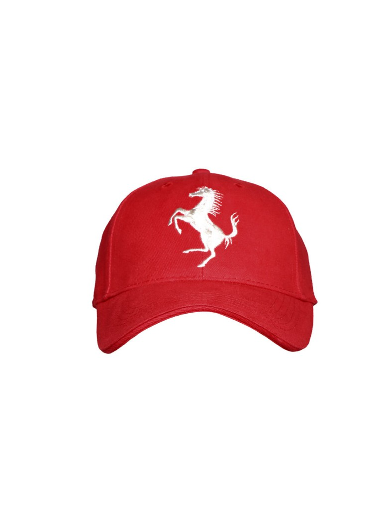 Ferrari Men Red Cap