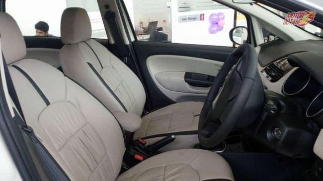 Limited Edition Fiat Linea Elegante Interior