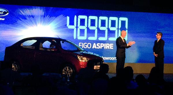 Ford Figo Aspire India