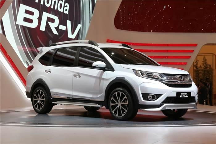 Honda BR-V SUV unveiled