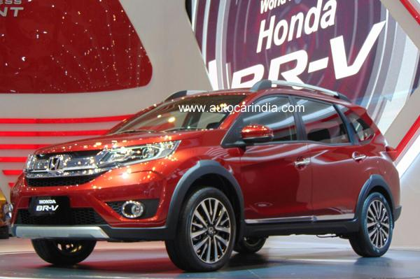 Honda City 2017 V Pantip >> Honda BR-V Features and Specifications are here - GaadiKey