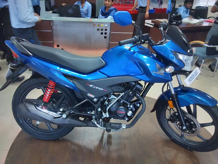 Honda Livo Photos Gaadikey