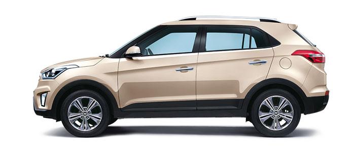 Hyundai Creta Pearl Beige