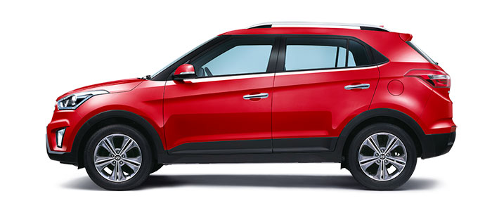 Hyundai Creta Red Passion