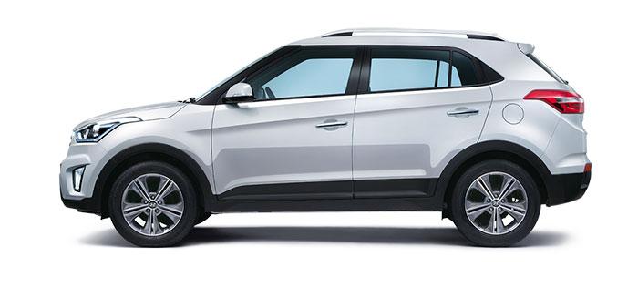 Hyundai Creta Sleek Silver