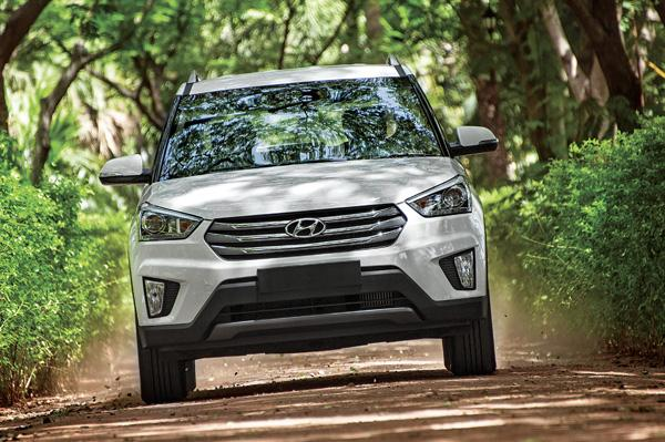 Hyundai Creta on Road