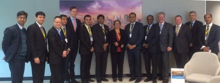 Indian Delegates in Melbourne
