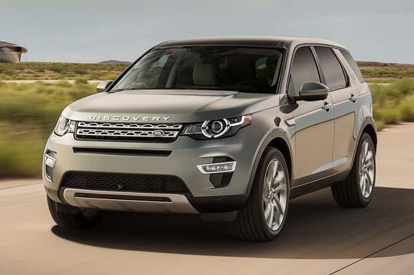 LandRover Discovery Sport Feature List