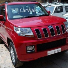 Photos of Mahindra TUV300; Upcoming Compact SUV
