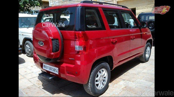 Mahindra TUV300 Photos