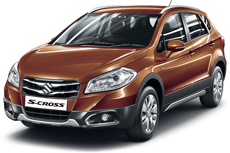 Maruti S Cross Caffeine Brown