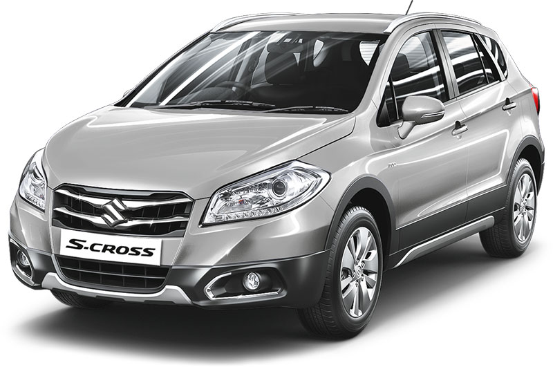 Maruti S-Cross Premium Silver