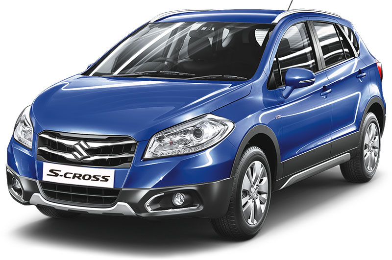 Maruti S-Cross Urban Blue
