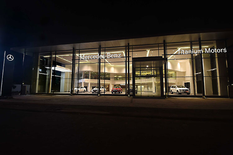 Mercedes Benz Chennai Dealership 2