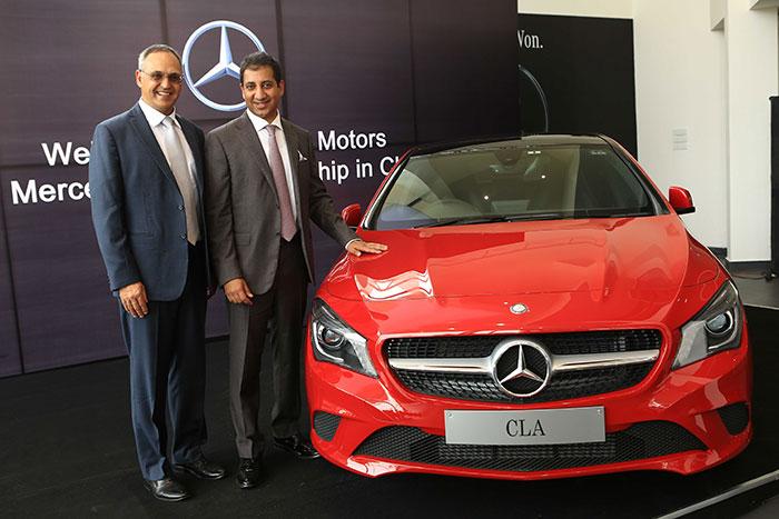 Mercedes Benz Chennai Dealership 1
