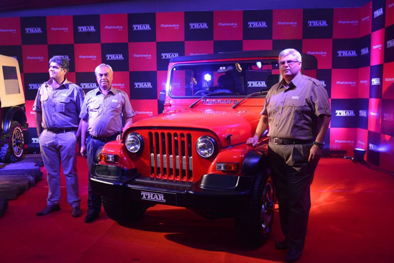 New Mahindra Thar CRDe Engine