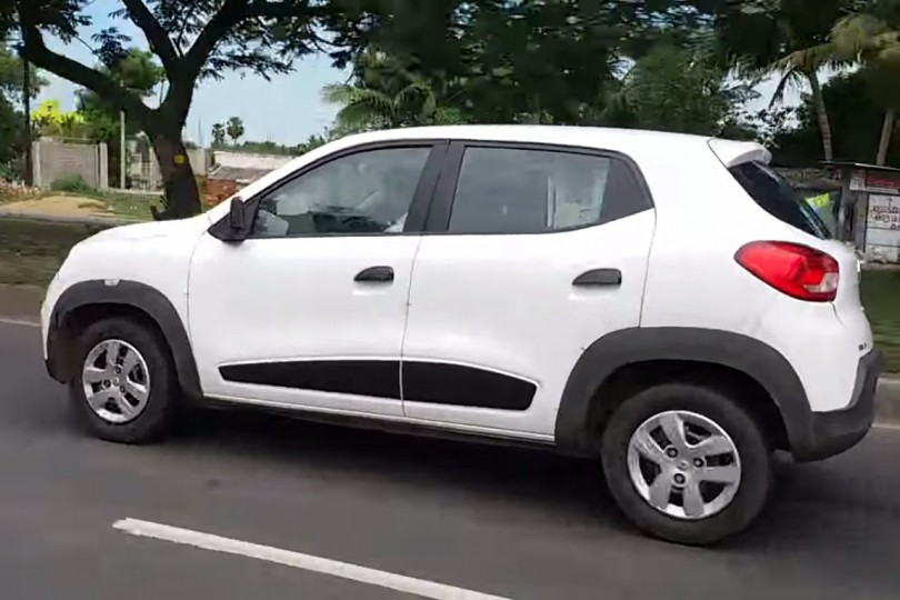 Renault Kwid Crossover spotted in India