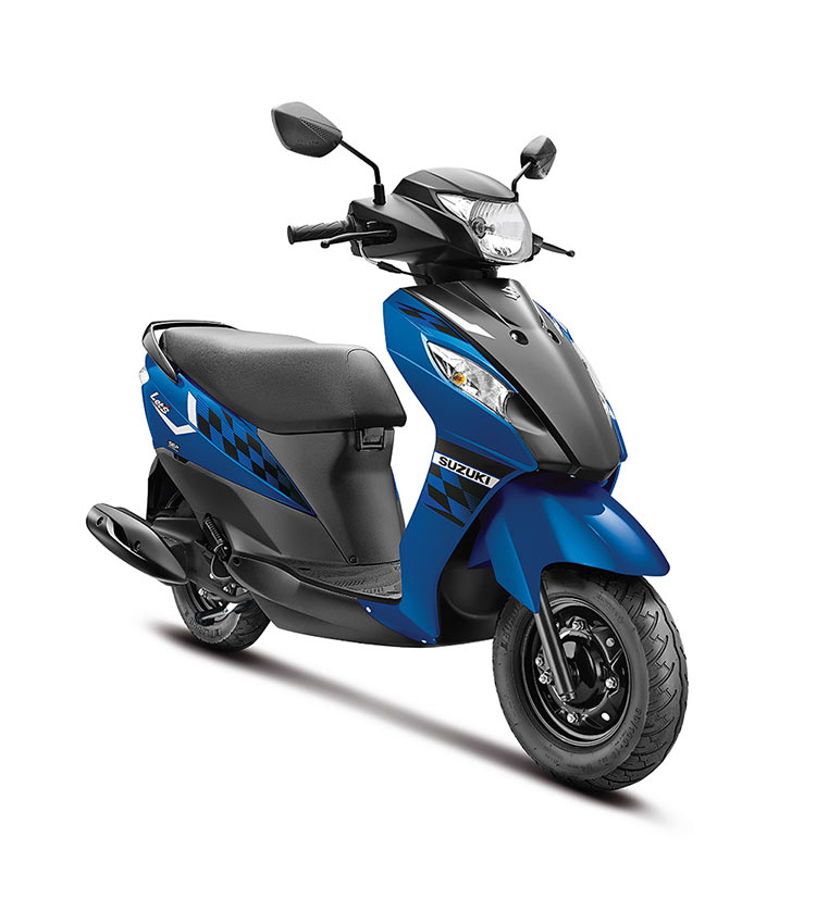 SUZUKI-LET'S-IN-TRENDY-NEW-DUAL-TONE-COLOURS-BLUE