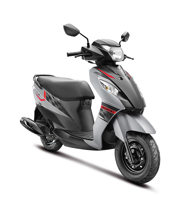 SUZUKI-LET'S-IN-TRENDY-NEW-DUAL-TONE-COLOURS-GREY