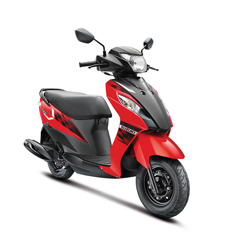 SUZUKI-LET'S-IN-TRENDY-NEW-DUAL-TONE-COLOURS-RED
