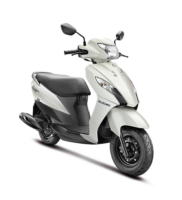 Suzuki Let's Dual Color White