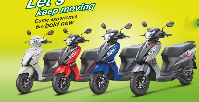 Suzuki Let's Dual Tone Colors launched