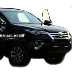 2015 Toyota Fortuner Front Spotted