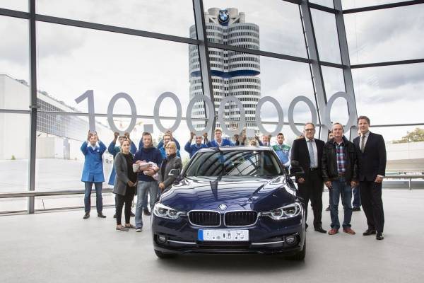10 millionth BMW Series launched in India