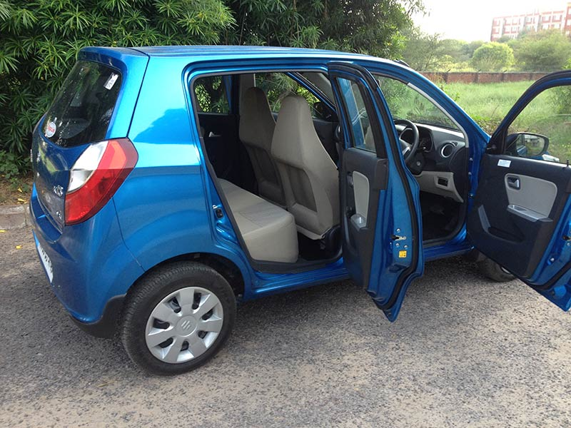 Maruti Alto K10 Opened Doors Side Profile