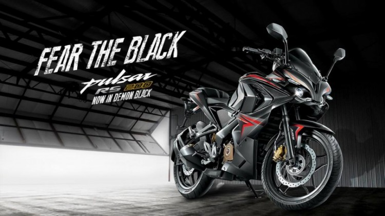 Bajaj Pulsar RS200 Black Edition