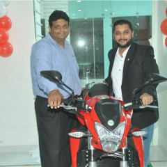 DSK Benelli opens a dealership in Chandigarh