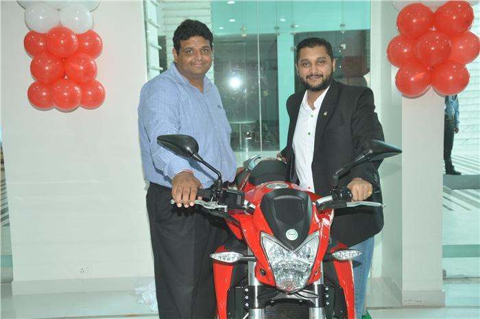 DSK Benelli Chandigarh Dealership opened.