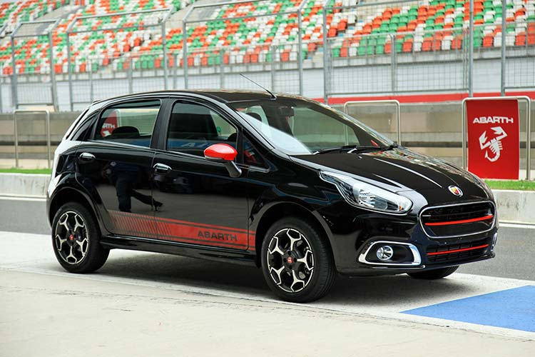 Fiat Abarth Punto October Launch