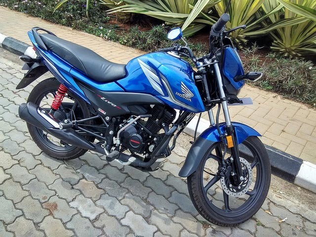 Honda Livo Blue Photos