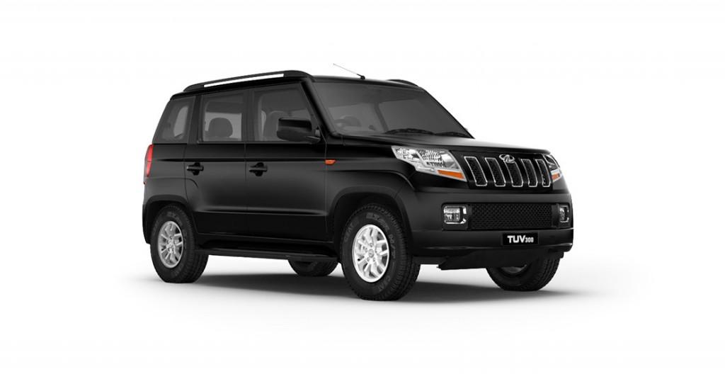 Mahindra TUV300 Bold Black