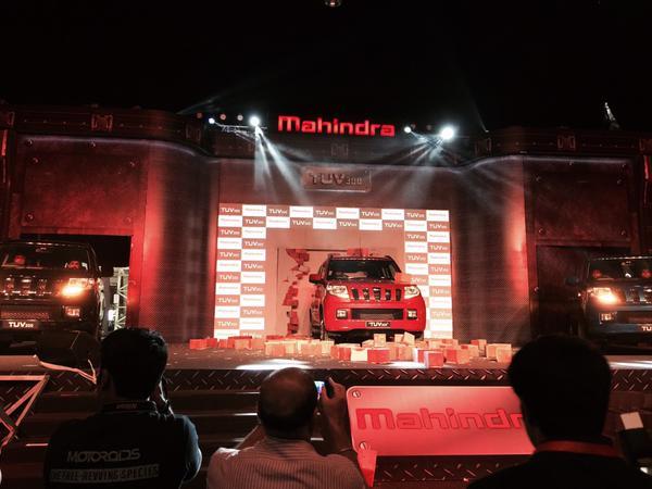 Mahindra TUV300 Launch Photo