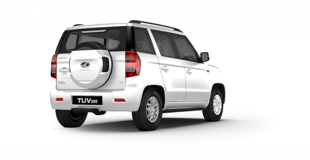 Mahindra TUV300 Colors