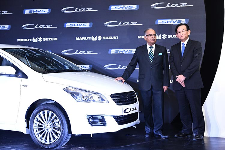 Maruti Ciaz Launch 1